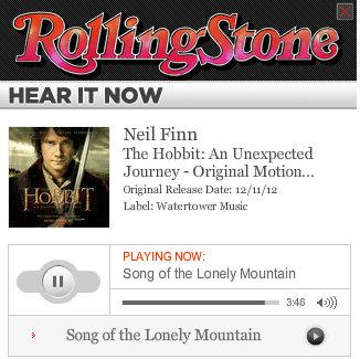 rollingstone Who Let These Hippies Write The New HOBBIT Song?