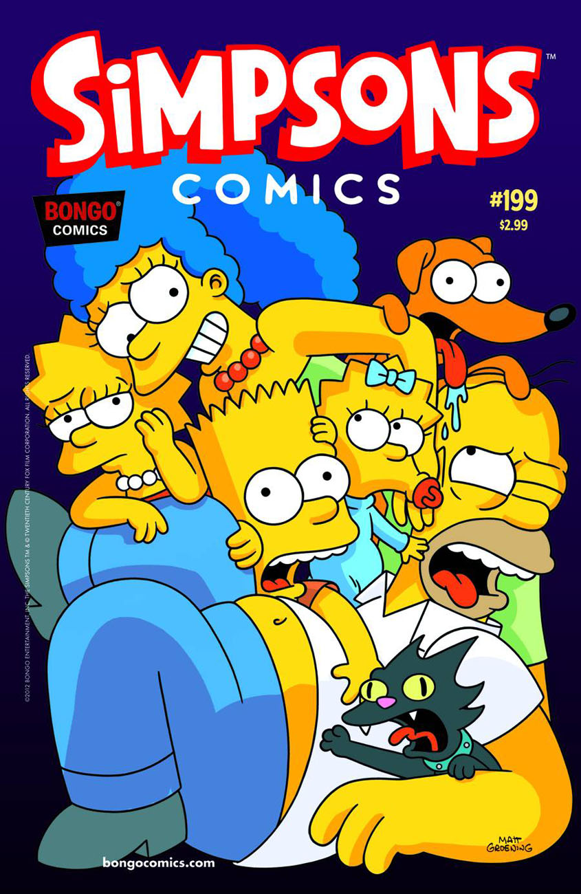 simpsons199 BONGO COMICS Solicitations for FEBRUARY 2013