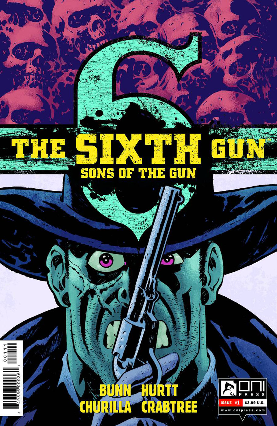 sixthgun1 ONI PRESS Solicitations for FEBRUARY 2013
