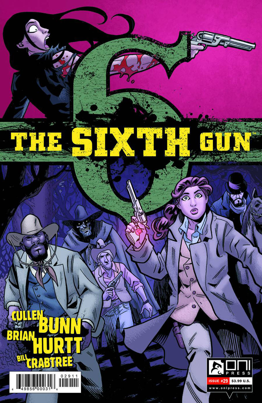 sixthgun29 ONI PRESS Solicitations for FEBRUARY 2013