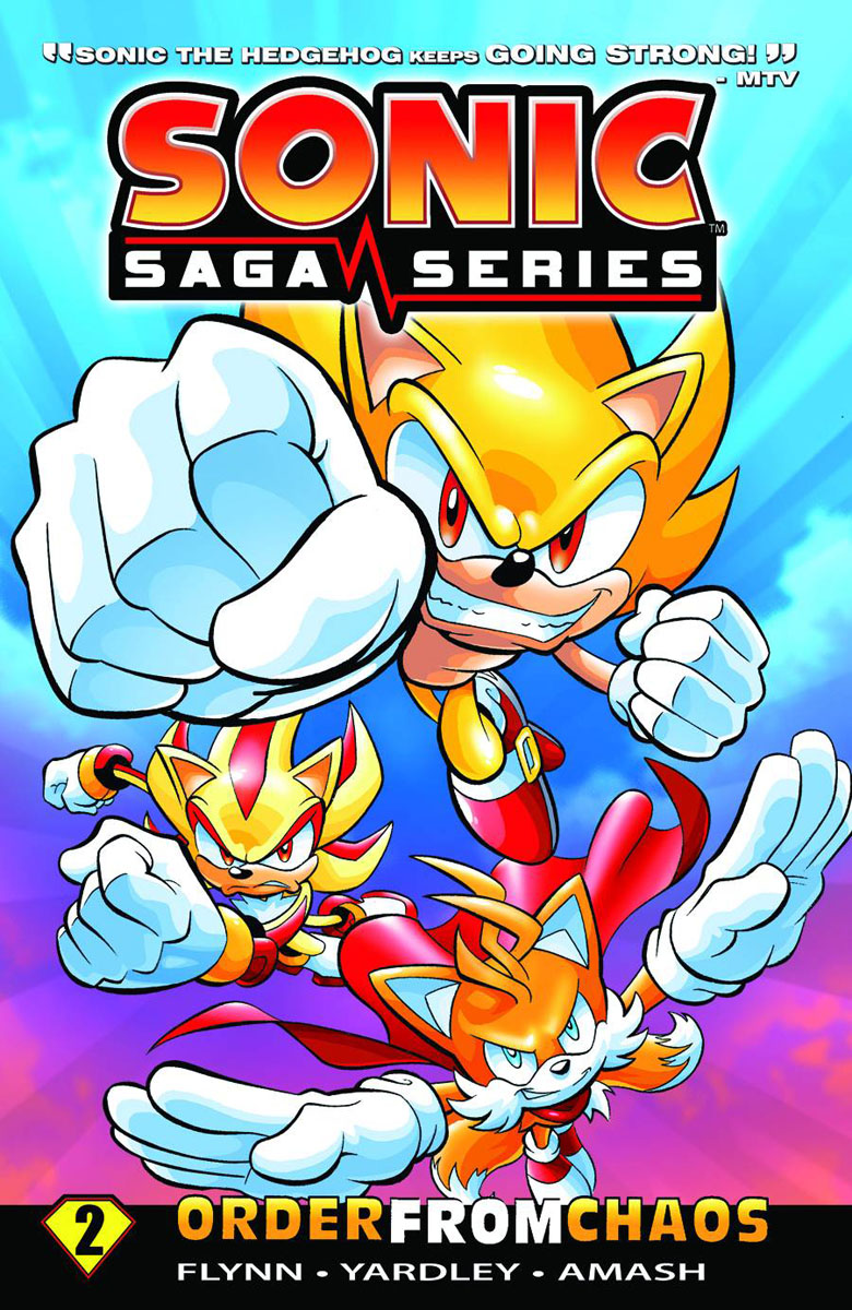 sonicsaga2 ARCHIE COMICS Solicitations for FEBRUARY 2013