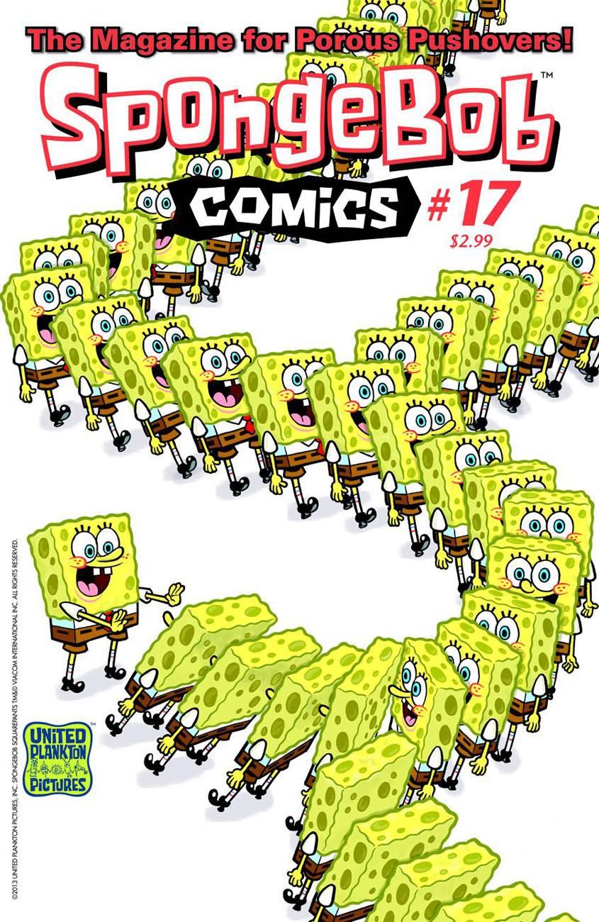 spongebob17 BONGO COMICS Solicitations for FEBRUARY 2013