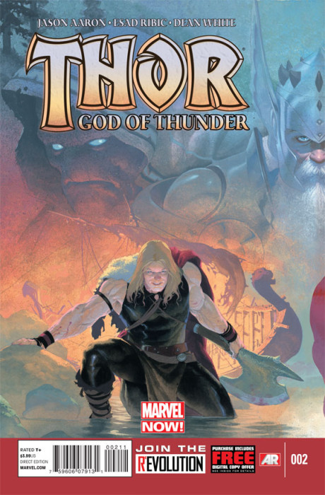 thor god thunder 2 460x700 Thor: God of Thunder #2 Review
