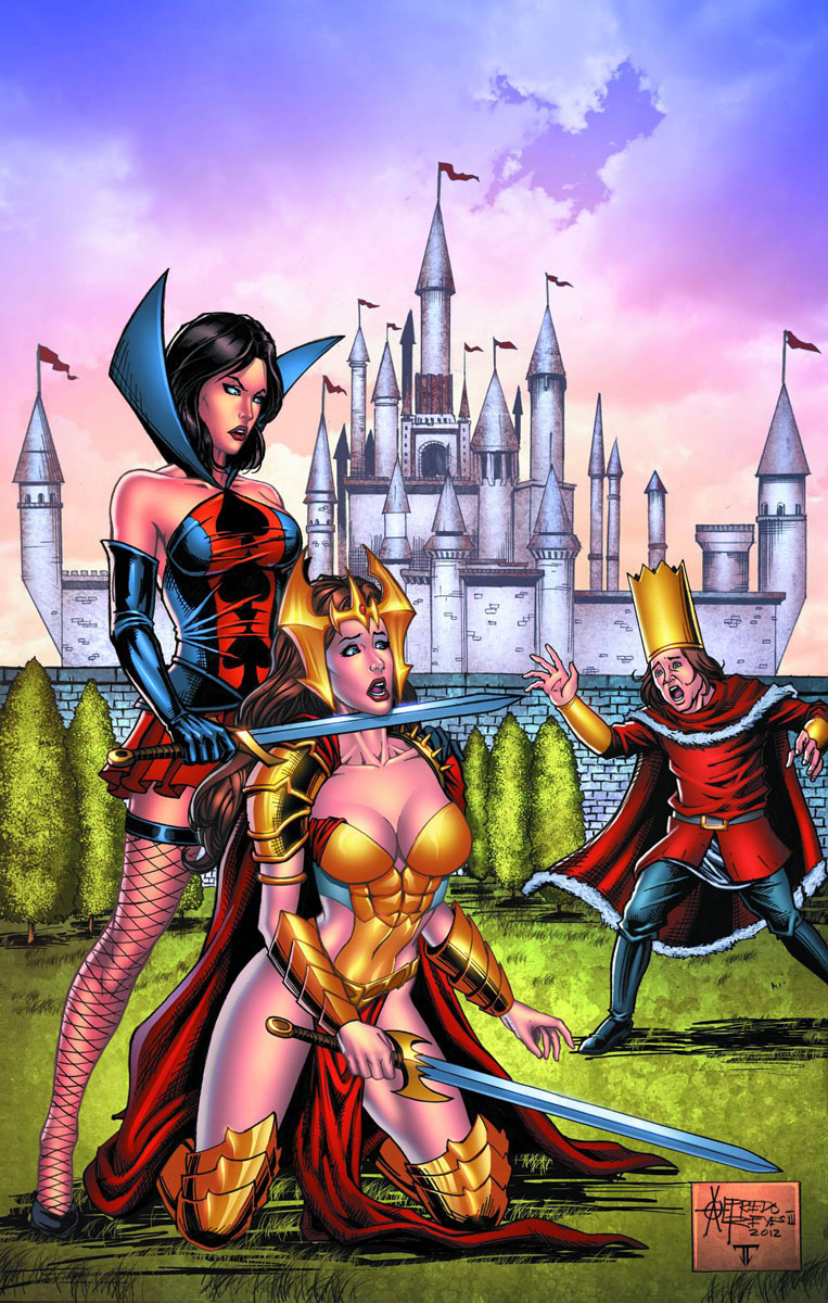 wonderland8a ZENESCOPE ENTERTAINMENT Solicitations for FEBRUARY 2013