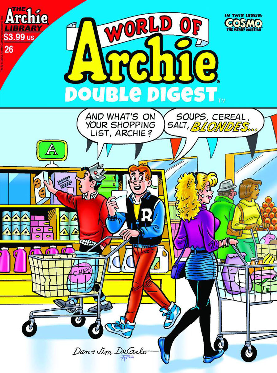 worldofarchie26 ARCHIE COMICS Solicitations for FEBRUARY 2013