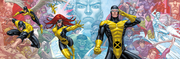 x men huge banner All New X Men #1 Review