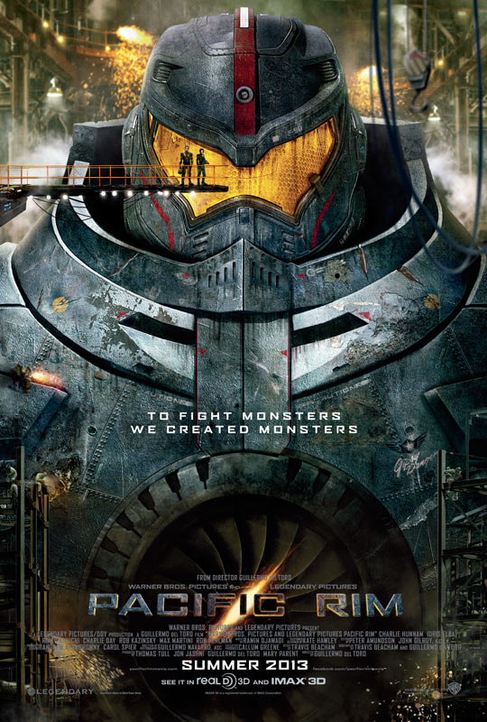1GPoK The PACIFIC RIM Trailer is Here and it is Awesome