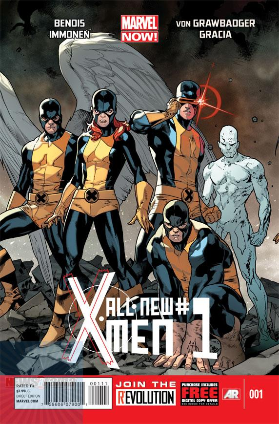 All New X Men 1 C DIAMOND announces the Top Comics in NOVEMBER