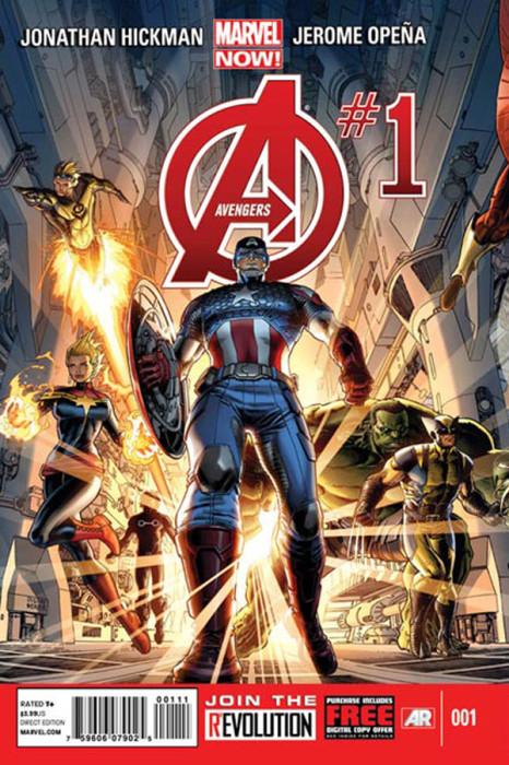 Avengers 1 Cap Cover 466x700 Avengers #1 Review
