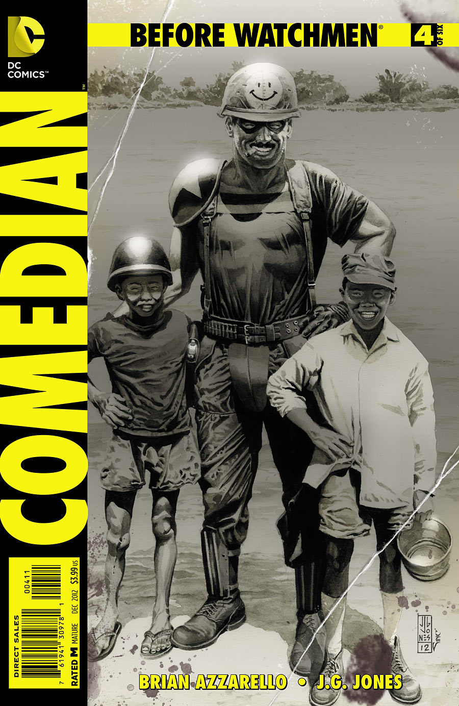 Before Watchmen Comedian 4 C Before Watchmen: Comedian #4 Review