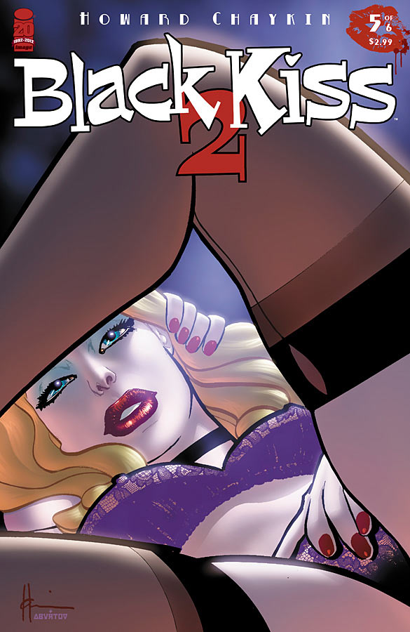 Black Kiss II 5 C Weekly Comic Reviews 12/5