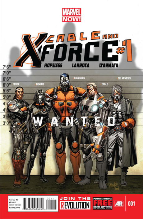 Cable X Force 1 460x700 Cable & X Force #1 Review