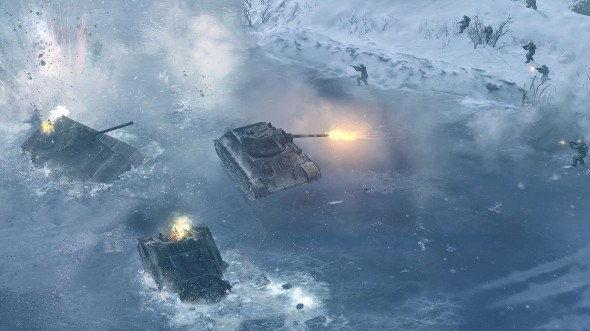 Company of Heroes 2 590x331 THQ Files For Bankruptcy   Finds A New Investor