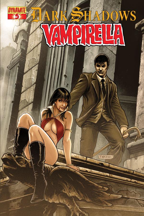 DSVampi05 Cov Neves Dark Shadows / Vampirella #5 Review