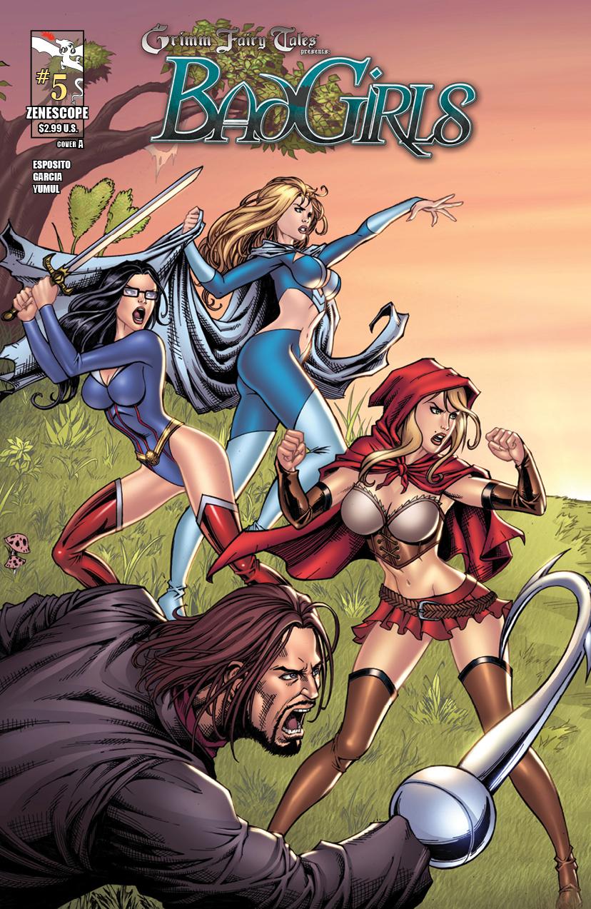GFTBG05 coverA Grimm Fairy Tales presents Bad Girls #5 Review