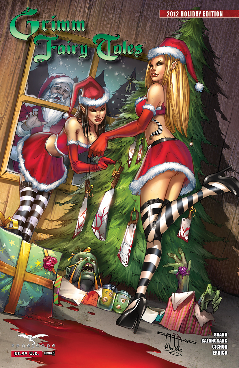 GFTHOL2012 coverA Grimm Fairy Tales: 2012 Holiday Special Review