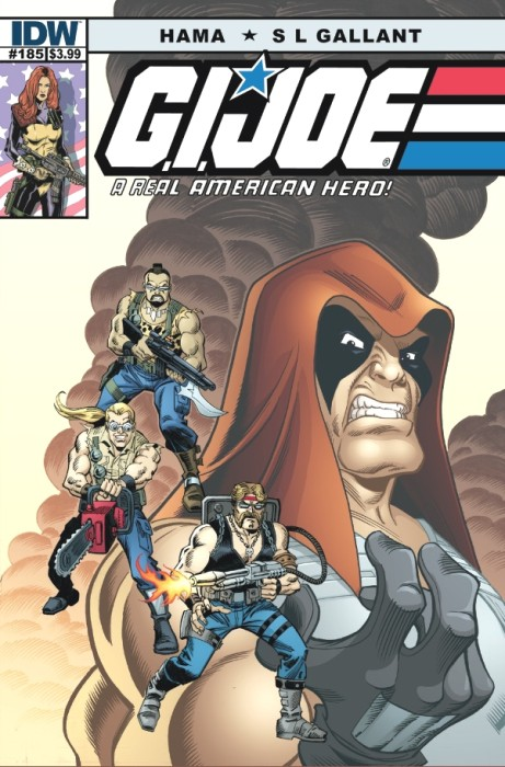 GIJoe ARealAmericanHero 185 461x700 G.I. Joe: A Real American Hero #185 Review