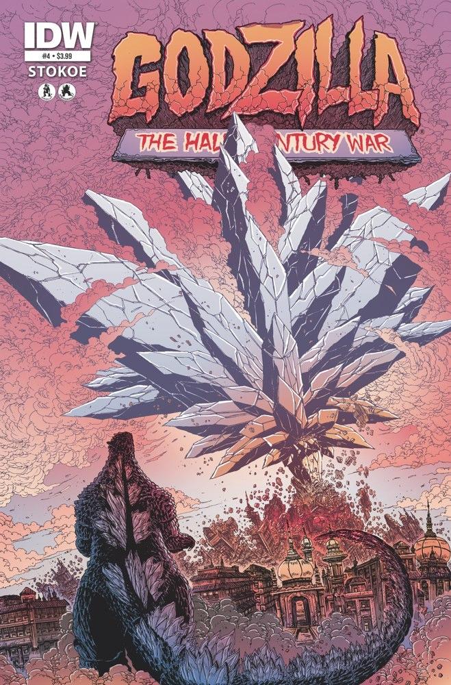 GODZILLA HCW04 coverA Weekly Comic Reviews 1/2