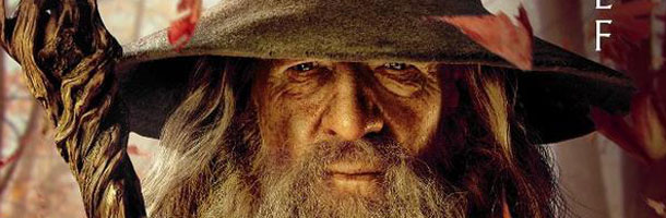 Gandalf banner banner Gandalf is Still Nagging About Sauron in THE HOBBIT AN UNEXPECTED JOURNEY