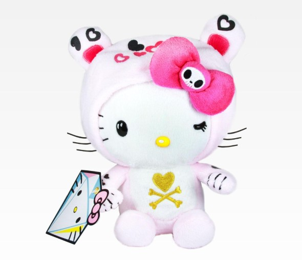 HK Tokidoki 590x508 LE GEEK CEST CHIC: Top 10 Hello Kitty Collaborations... For Guys and Girls
