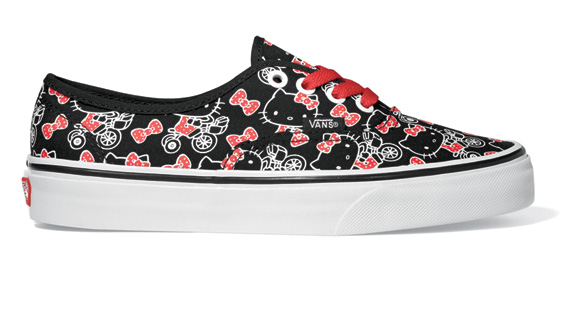 HK Vans LE GEEK CEST CHIC: Top 10 Hello Kitty Collaborations... For Guys and Girls