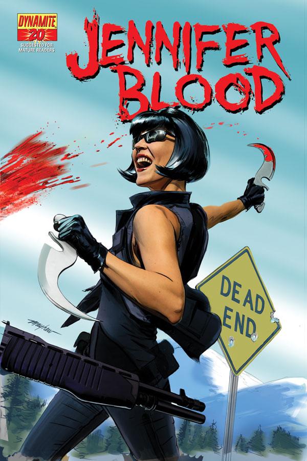 JenBlood20 Cov Mayhew Weekly Comic Reviews 12/12