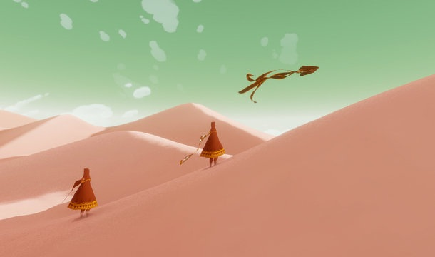 Journey 4 JOURNEY   First Video Game Ever Nominated For A GRAMMY