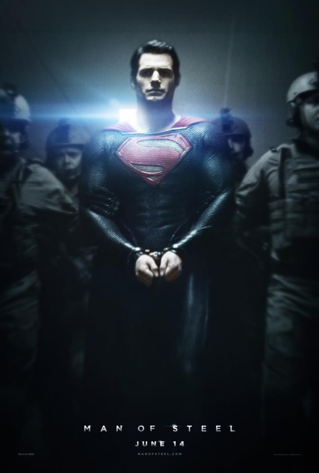 Man of Steel Poster New MAN OF STEEL Poster!