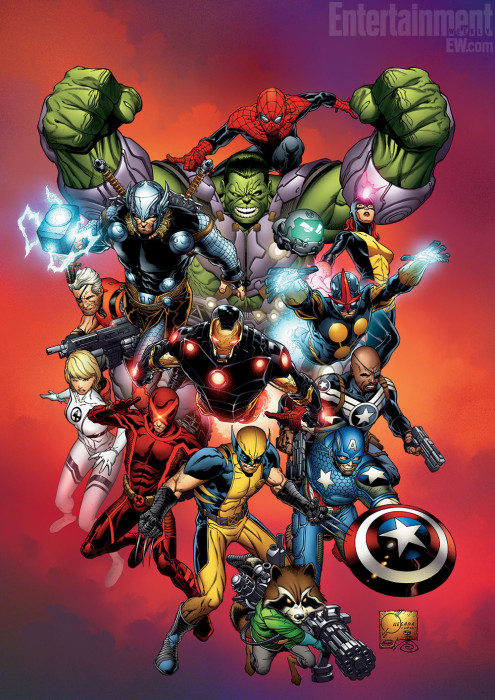 Marvel NOW Promo Art EW JQ 495x700 Marvel NOW! VS The New 52