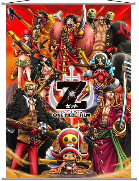 One Piece Film Z Big Tapestry New One Piece Film Makes $36 Million Dollars in 10 Days
