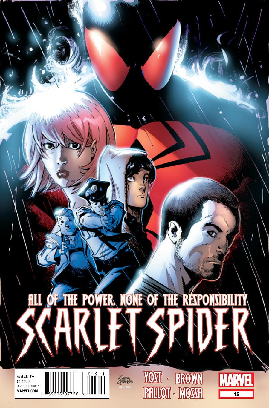 Scarlet Spider 12 C Scarlet Spider #12 Review