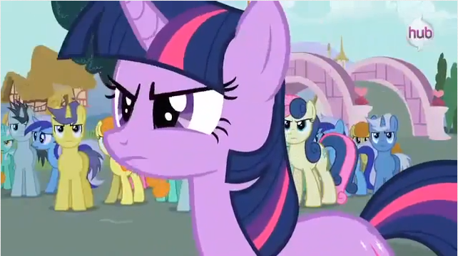 Stop messing with my friends S3E51 My Little Pony: Friendship is Magic Magic Duel Review