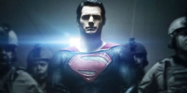 Superman Man of Steel 2013 Movie Poster 600x301 New MAN OF STEEL Trailer is Explosive and Emotional