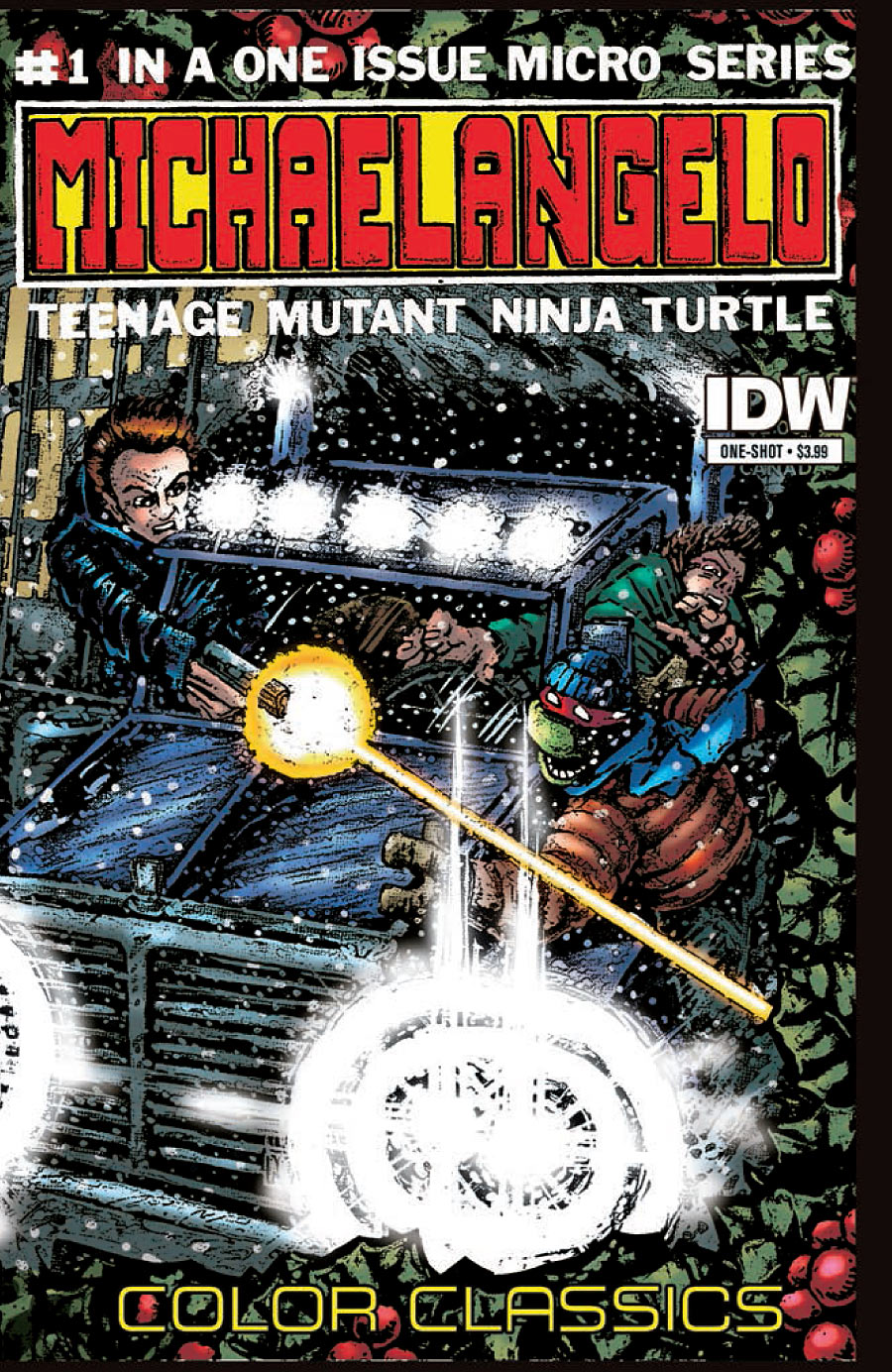TMNT Color Classics Micro Series Michelangelo 1 c Teenage Mutant Ninja Turtles Color Classics Micro Series: Michelangelo #1 Review