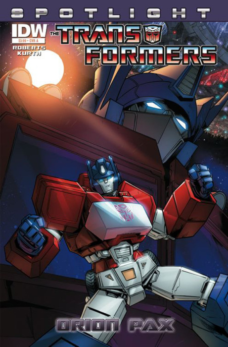 Transformers Spotlight Orion 461x700 Weekly Comic Reviews 12/12