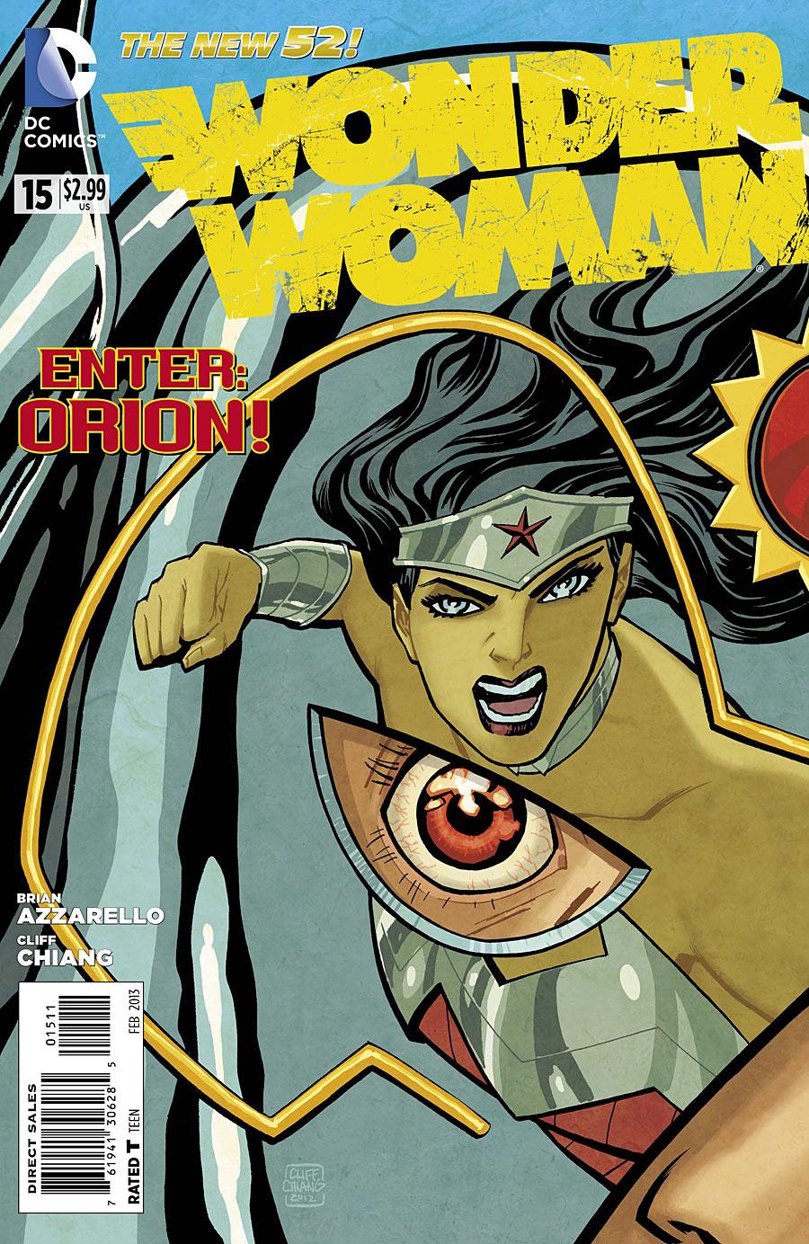 Wonder Woman 15 C Wonder Woman #15 Review
