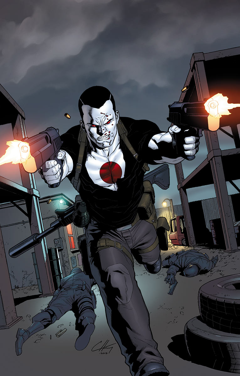 bloodshot9a VALIANT ENTERTAINMENT Solicitations for MARCH 2013