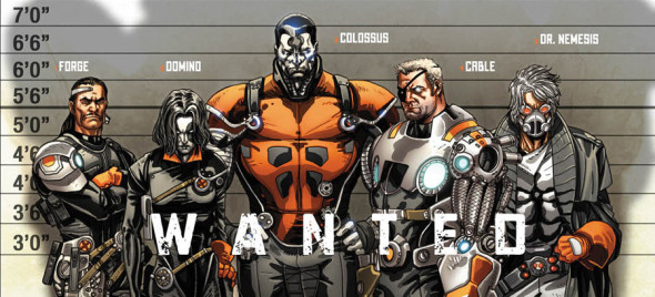 cable x force wanted 590x268 Cable & X Force #1 Review