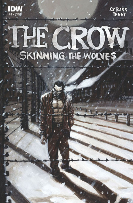crowstw1 460x700 The Crow: Skinning the Wolves #1 Review