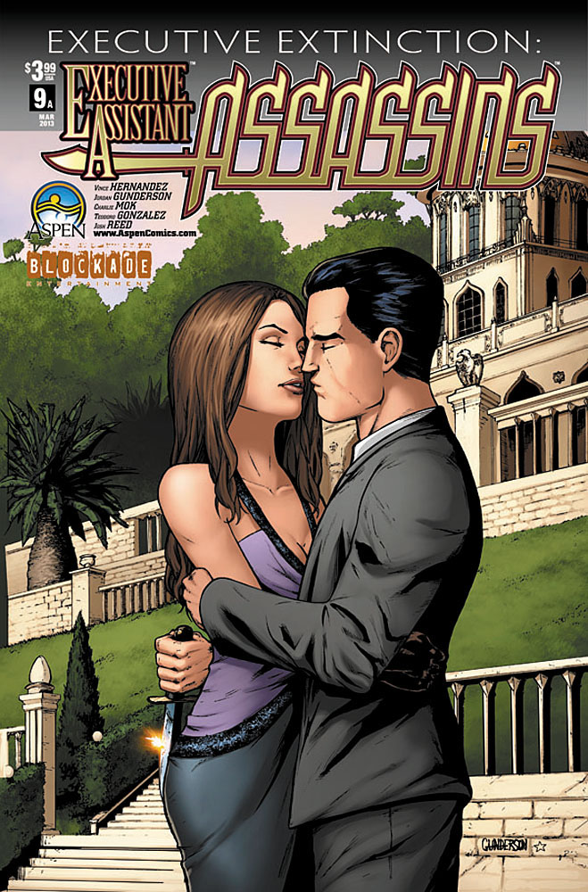 eaassassins9a ASPEN COMICS Solicitations for MARCH 2013