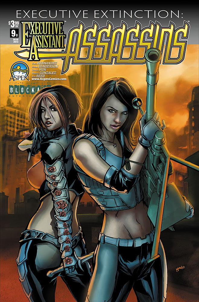 eaassassins9b ASPEN COMICS Solicitations for MARCH 2013