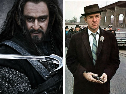 gene hackman thorin Drunk Casting: THE HOBBIT