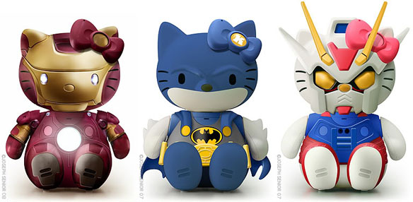 hellokittycustomsmain LE GEEK CEST CHIC: Top 10 Hello Kitty Collaborations... For Guys and Girls