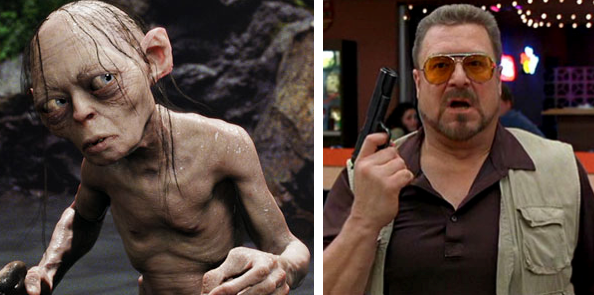 john goodman gollum Drunk Casting: THE HOBBIT