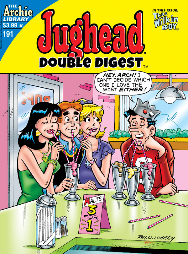 jughead191 ARCHIE COMICS Solicitations for MARCH 2013