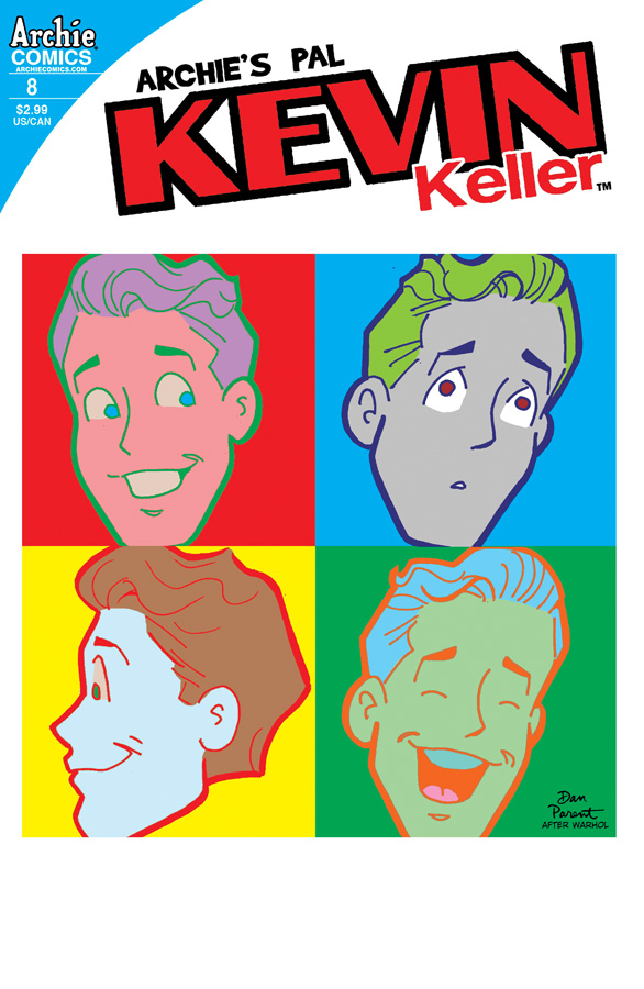 kevinkeller8a ARCHIE COMICS Solicitations for MARCH 2013