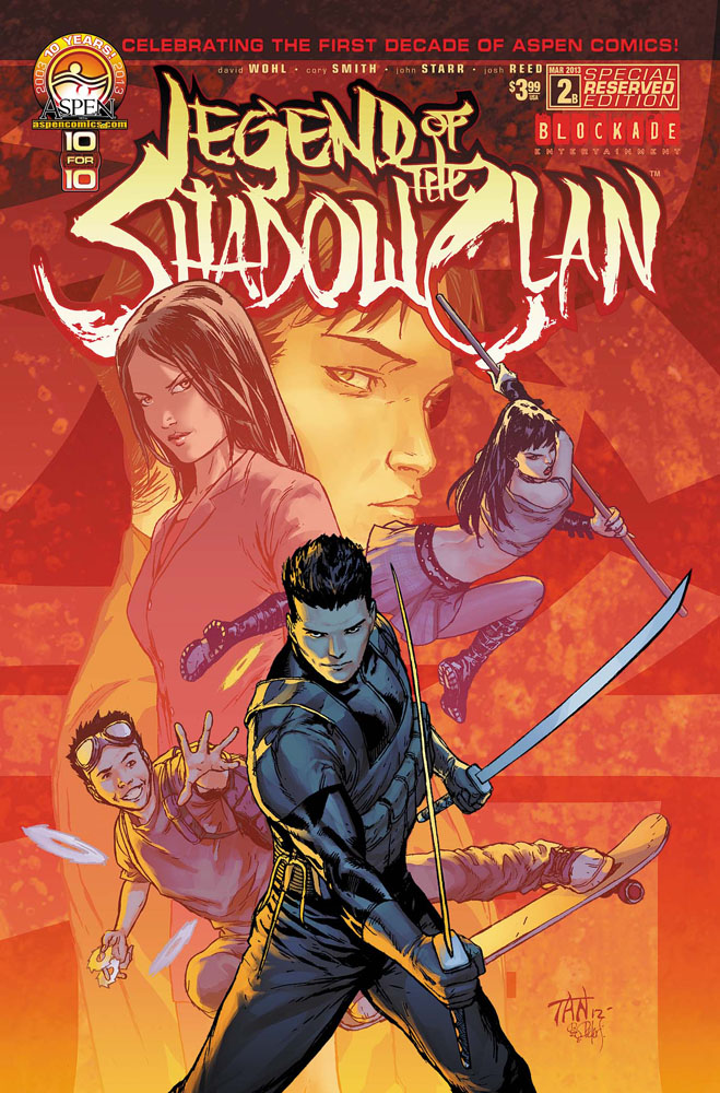 legend2b ASPEN COMICS Solicitations for MARCH 2013