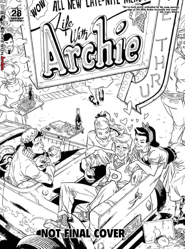 life28b ARCHIE COMICS Solicitations for MARCH 2013
