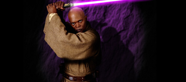 macewindu starwars Samuel L. Jackson Wants To Return in STAR WARS EPISODE 7