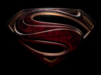 man of steel logo New MAN OF STEEL Trailer To Soar In April